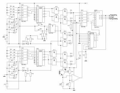 Ну че, господа, я нарисовал схему логического блока.  Давайте по-быстрому обматерим и будем разрабатывать...